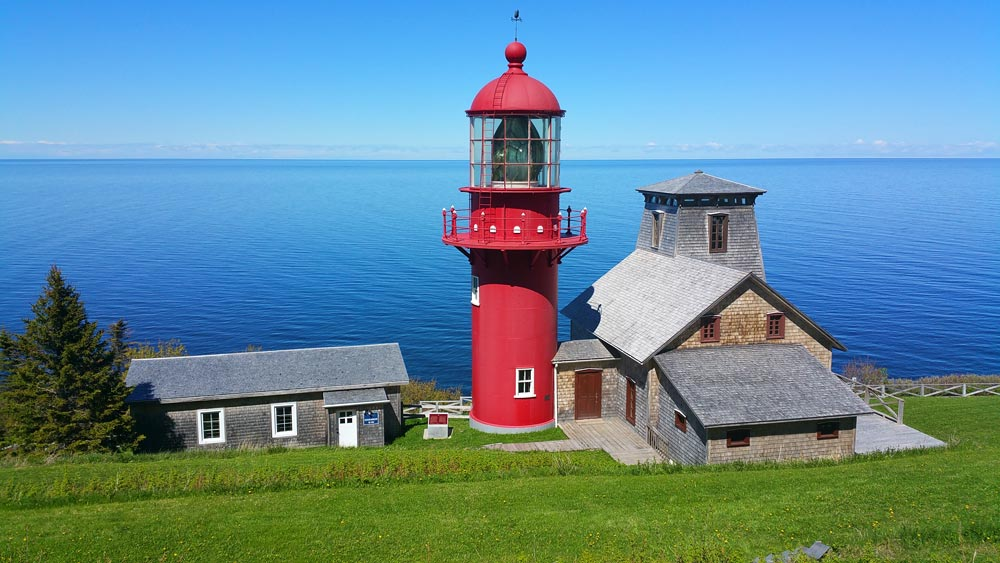 1904 Marconi lighthouse Gaspe