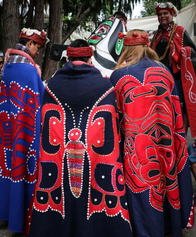 Le-La-La dancers aboriginal culture