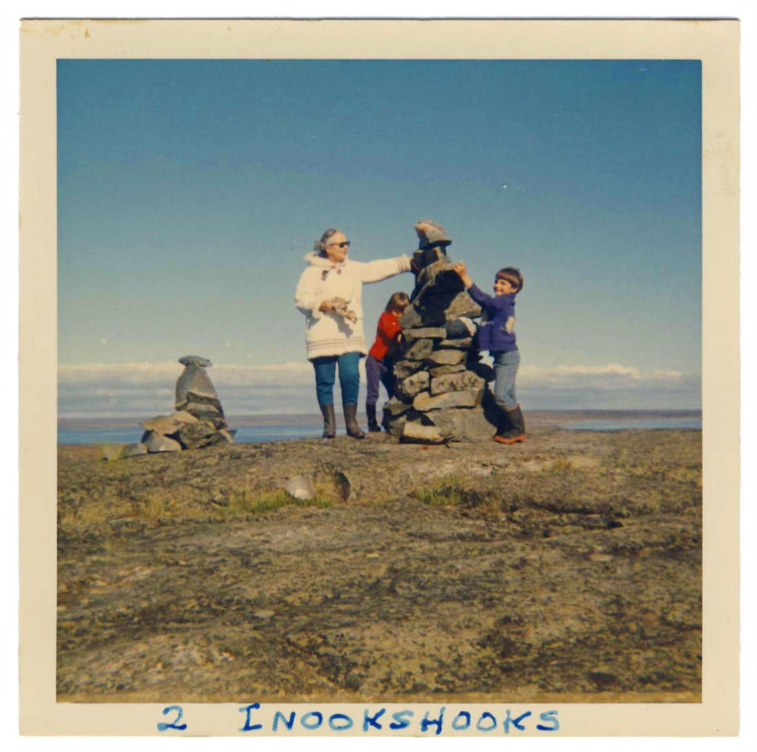 inukshuk Rankin Inlet 1968