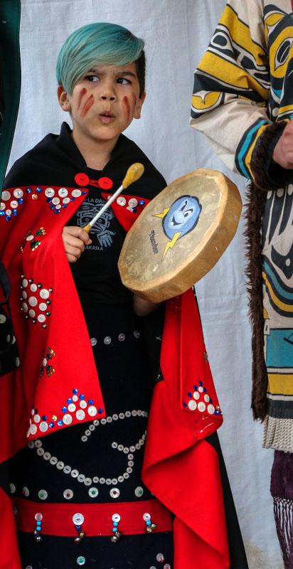 Le-La-La Dancers aboriginal cultural