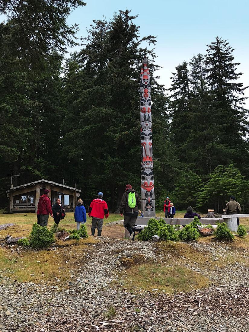 Haida Gwaii Watchmen Legacy Pole