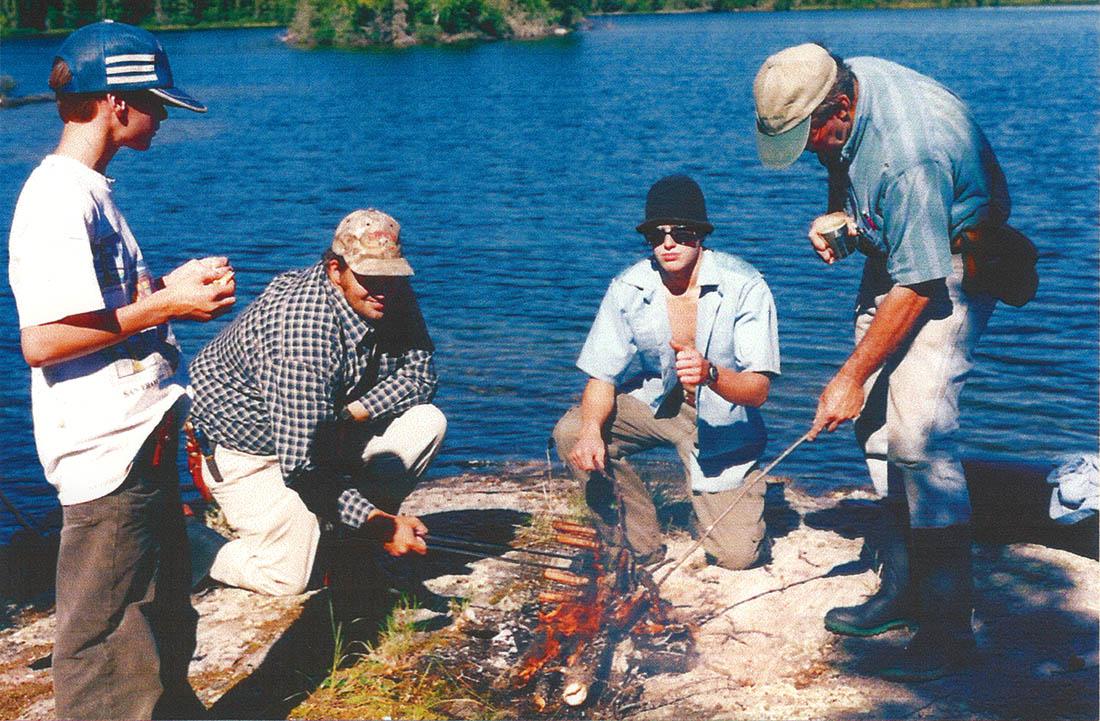 Mickey's camp, roadstories.ca, fish fry