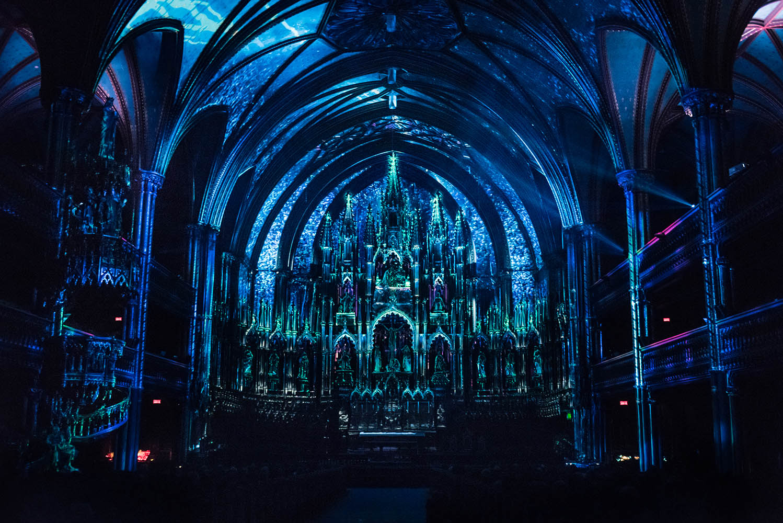 Aura - Notre-Dame Basilica - Montreal nave