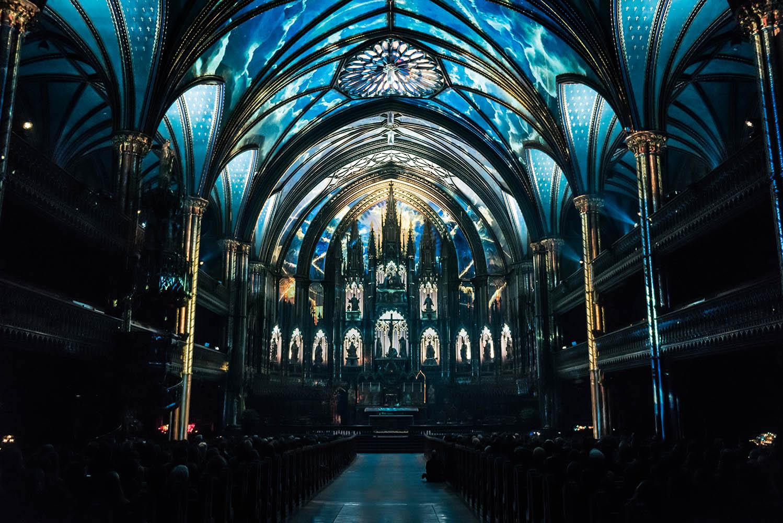 Aura - Notre-Dame Basilica Montreal