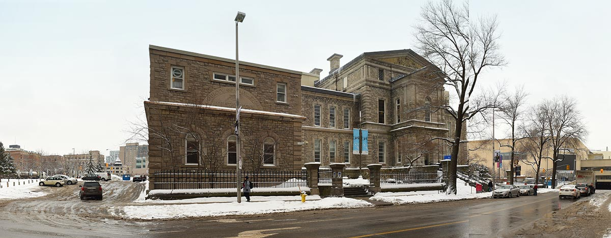 the old Ottawa Art Gallery