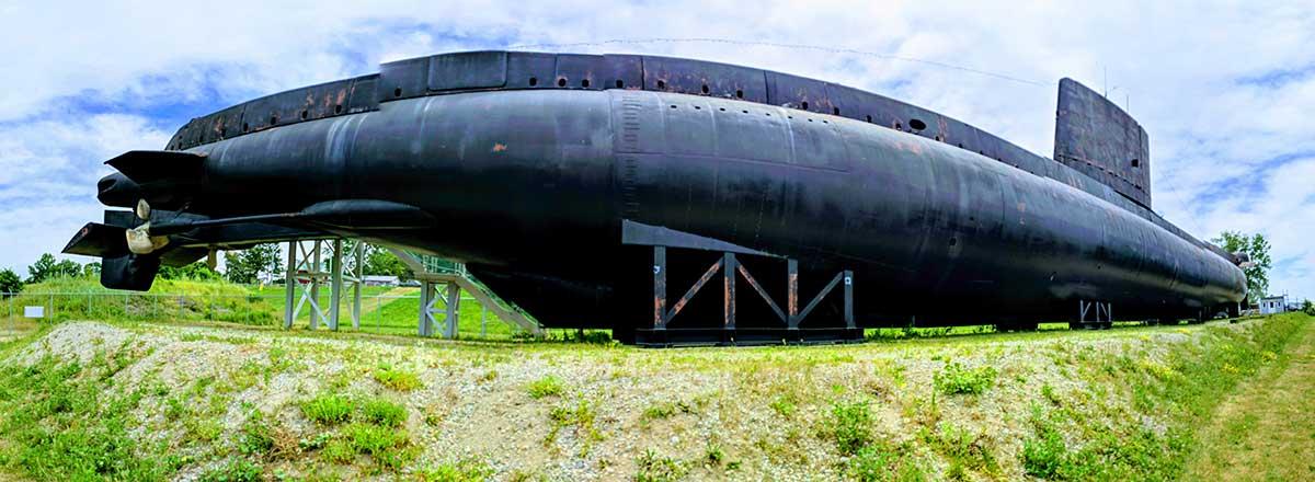 HMCS Ojibwa Port Burwell Ontario