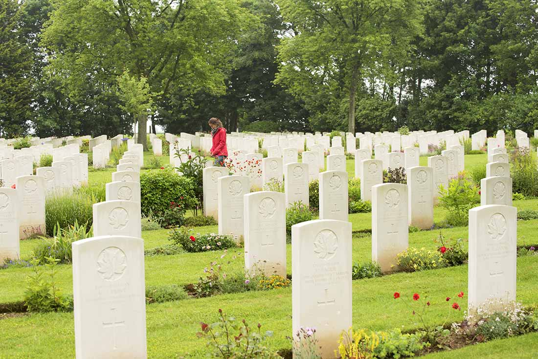 Remembrance Day cemeteries