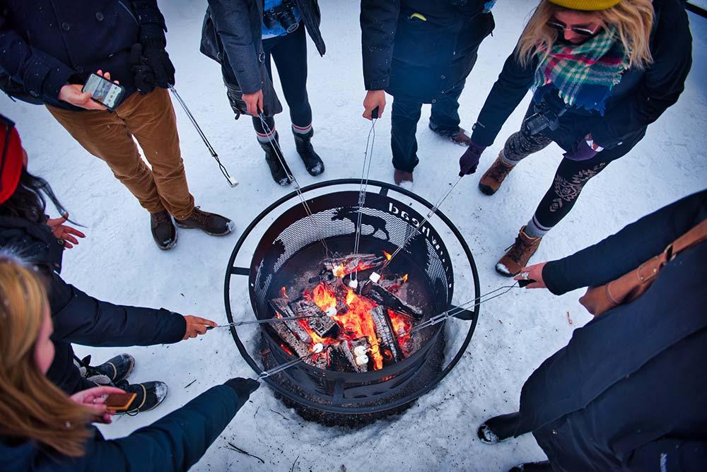 Arrowhead Provincial Park around the campfire