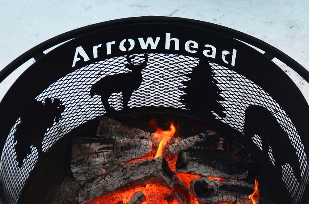 Arrowhead Provincial Park firepit