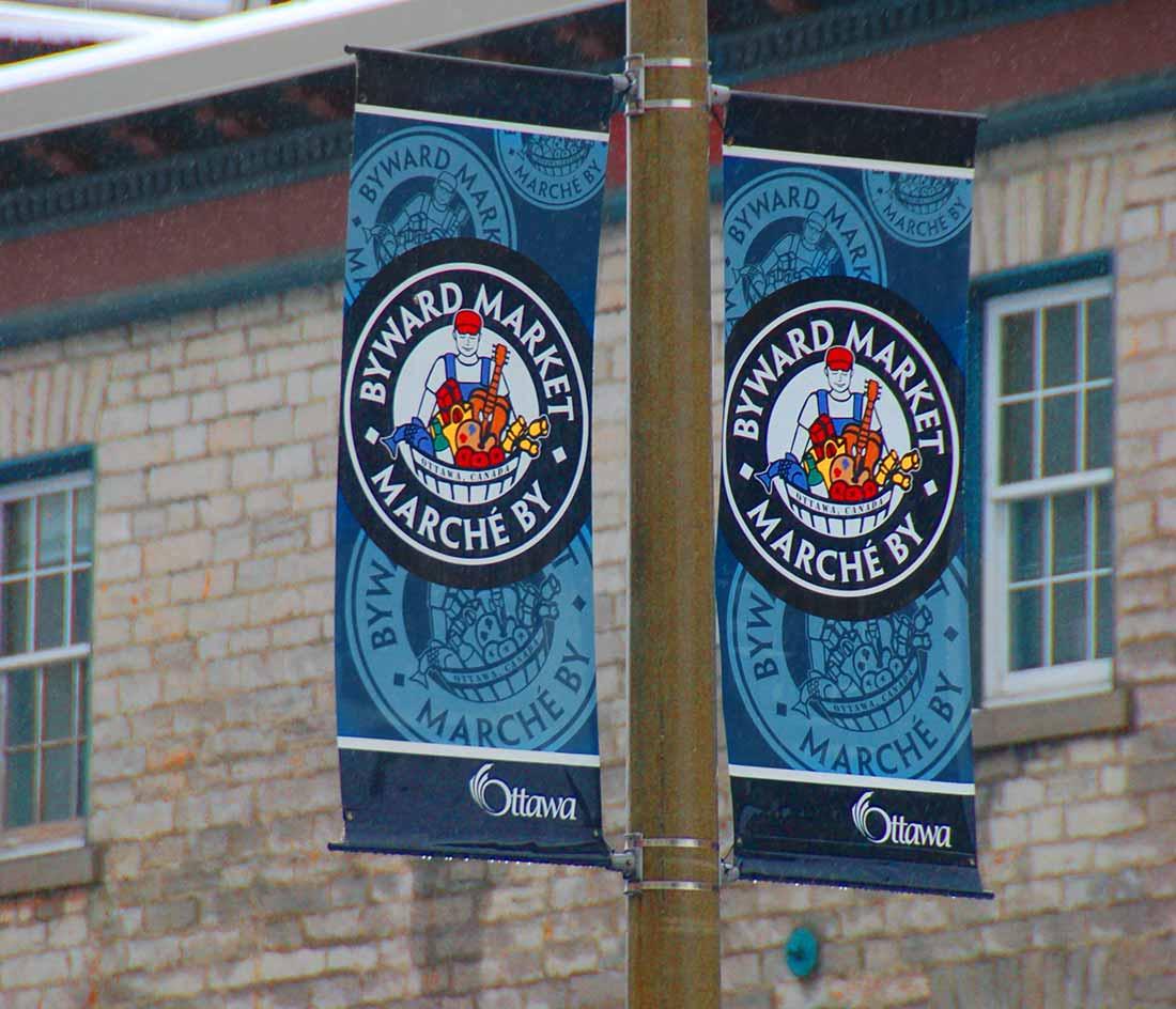 Ottawa-Byward Market banners