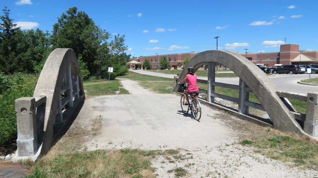 Charles Mattaini Bowstring Bridges trail