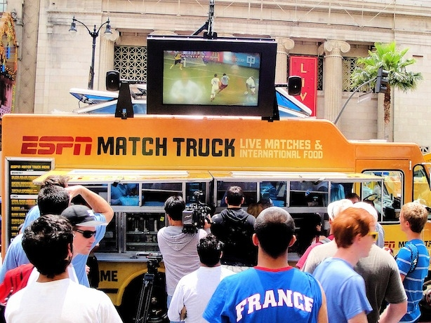 ESPN World Cup Experience Food Truck