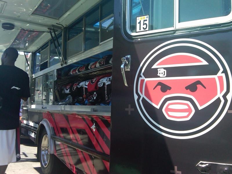 Baron Davis Food Truck