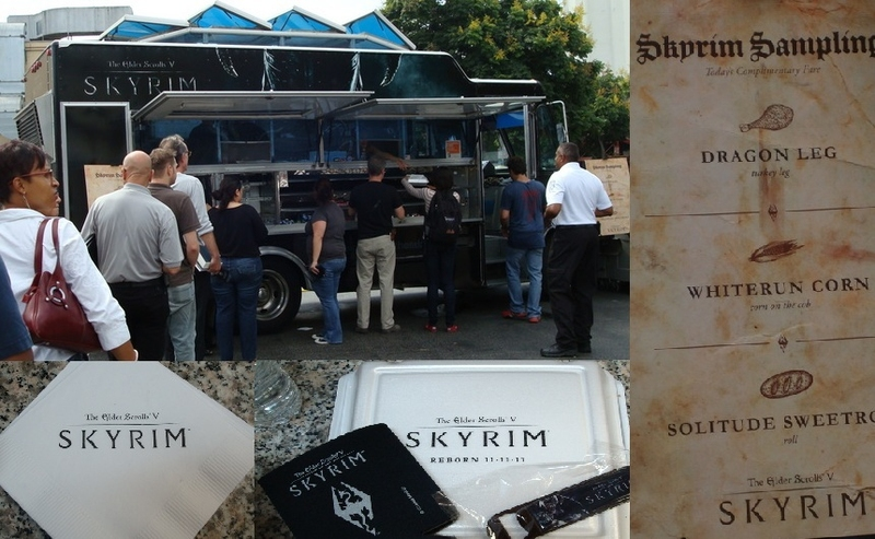 SKYRIM Food Truck
