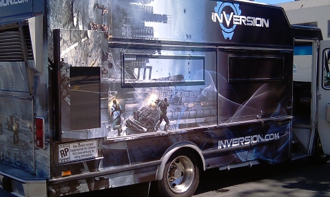 "NAMCO's ""Inversion"" Food Truck"