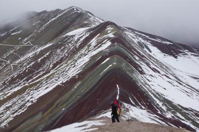 Not so rainbowy mountain