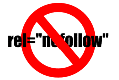 External Links as Nofollow