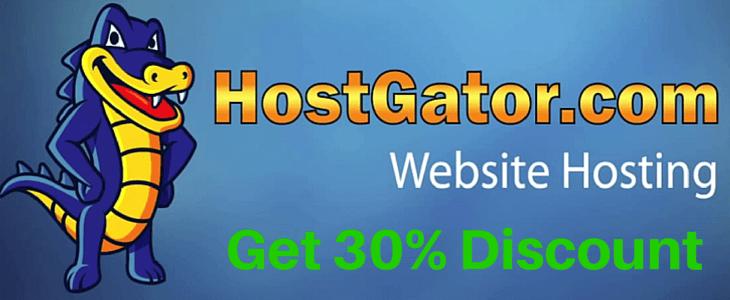 HostGator 30 Off