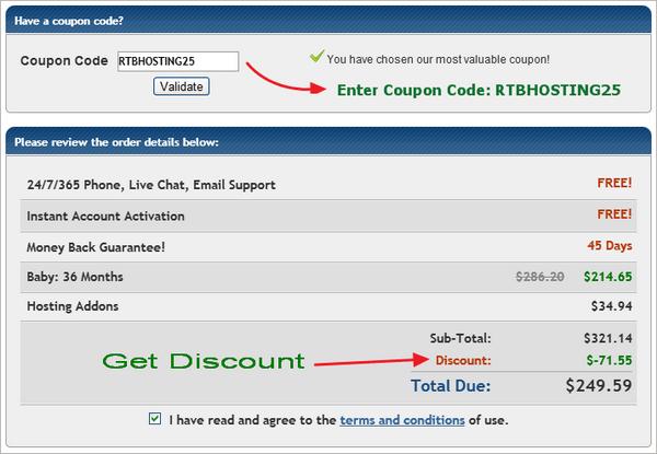 Hostgator 20 off coupon code