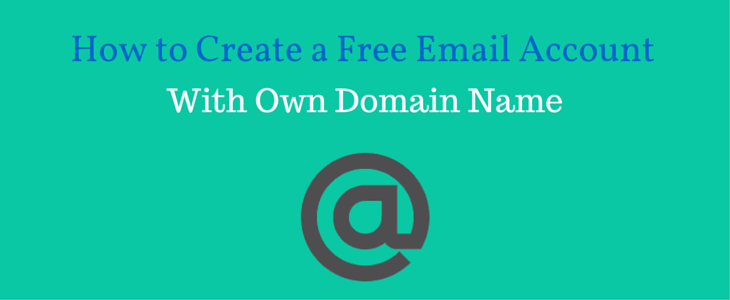 Create Email Account with Domain