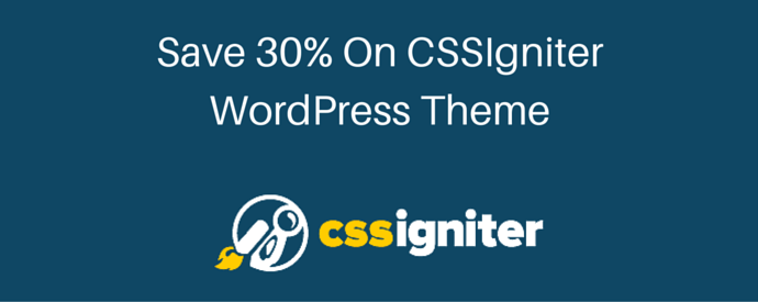 CSSIgniter Coupon Code