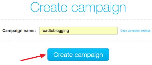 Campaign name