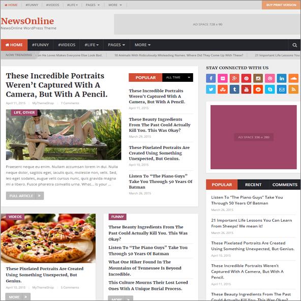 NewsOnline by MyThemeShop