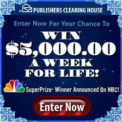 SHOP and WIN – PCH – Publishers Clearing House