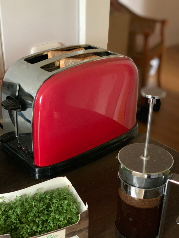 roter Toaster