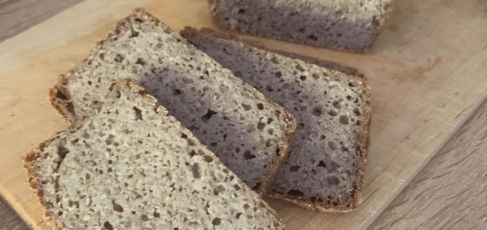 Buchweizenbrot natürlich glutenfreies Brot