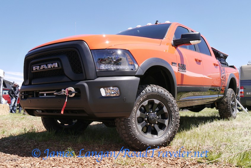 Ram Power Wagon is cool, I wish more of its features were offered on Turbo Diesel Rams.