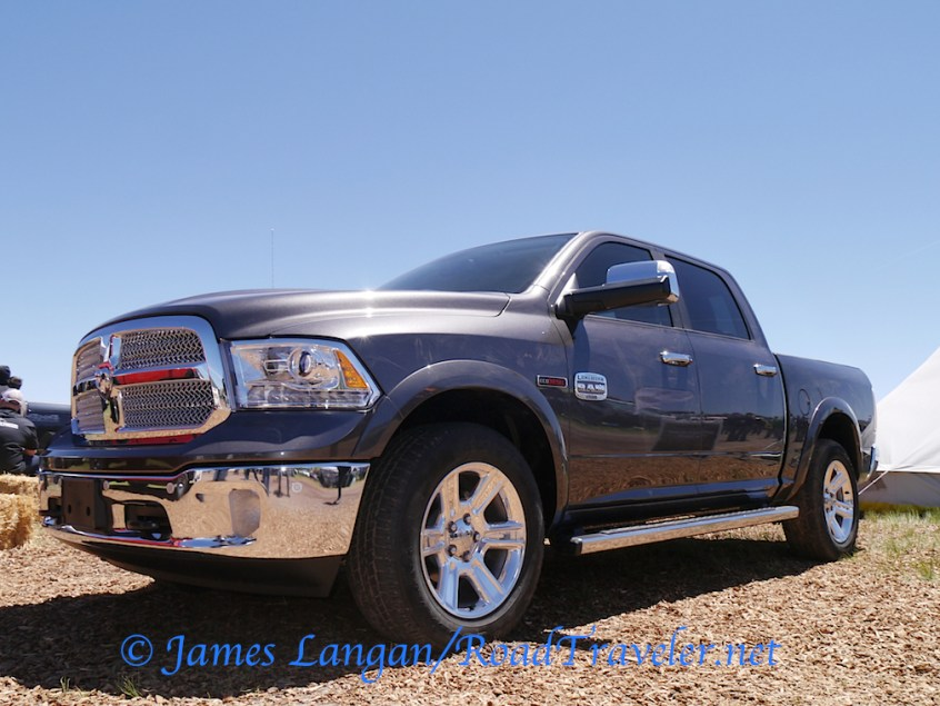 Some EcoDiesel love at the Ram booth.