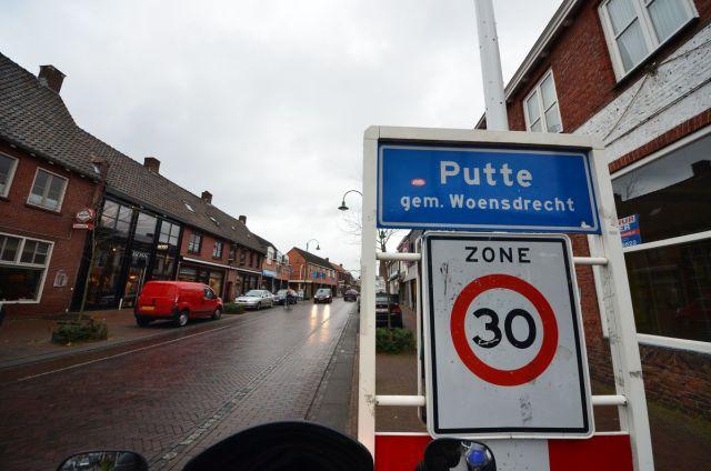 Putte - Frontière néerlandaise