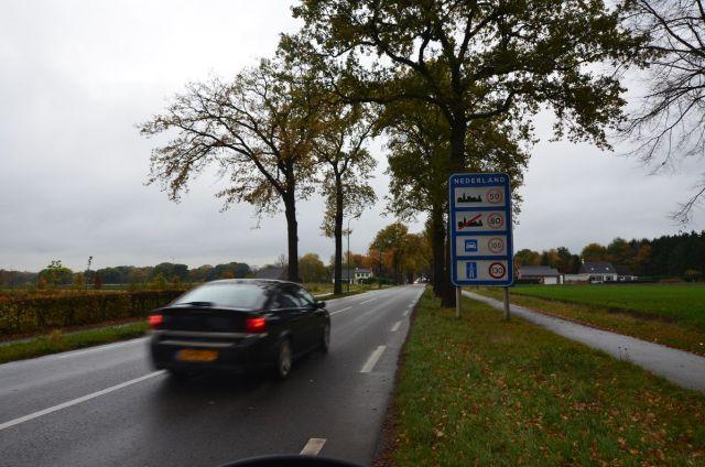 Panneau routier néerlandais