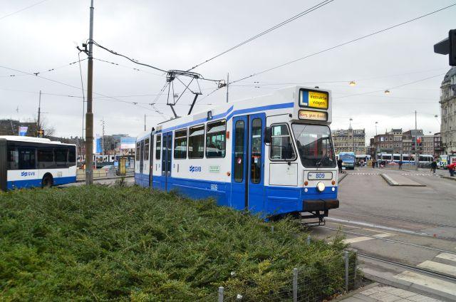 Tramway à Amsterdam
