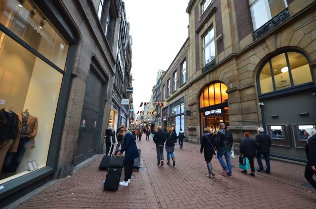 Kalverstraat à Amsterdam