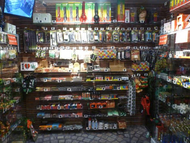 Boutique sur le Damrak - Amsterdam
