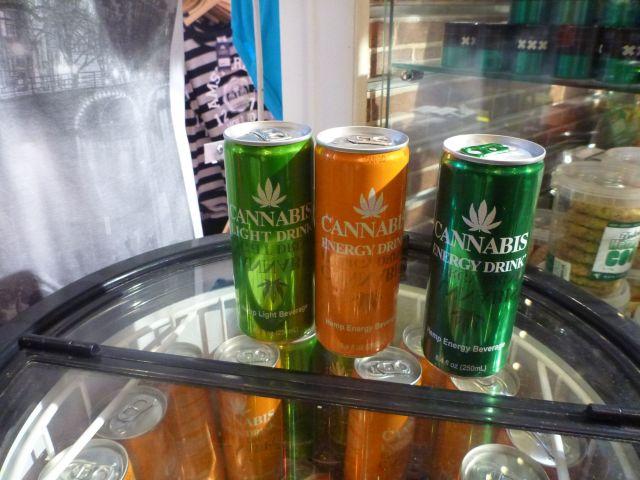 Boissons au cannabis - Amsterdam