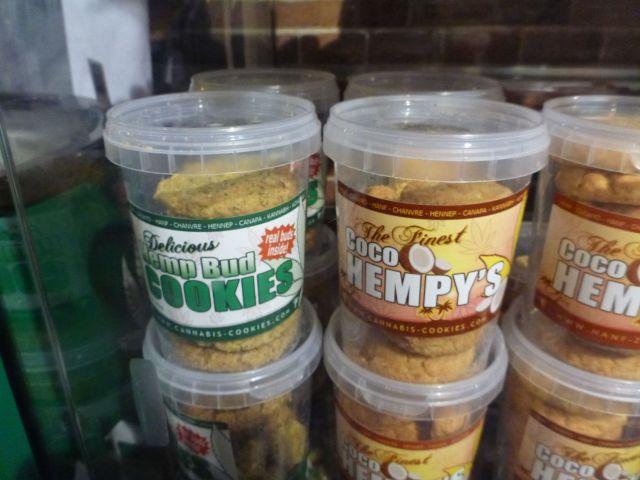 Biscuits au cannabis - Amsterdam