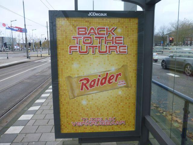 Publicité Raider (Twix) - Amsterdam