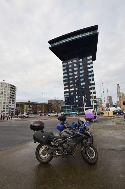 Immeuble face au Erasmusbrug - Rotterdam