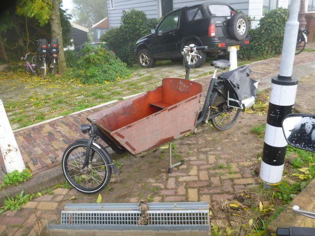 Un vélo à Durgerdam