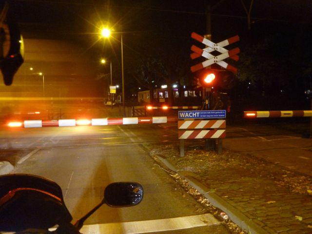Passage à niveau à Amersfoort