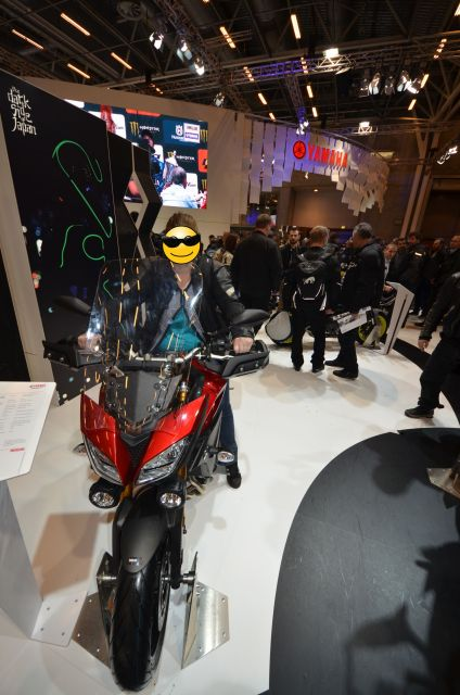 Peut-être ma future moto, la MT09 Tracer