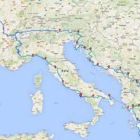 Tour d'Europe à moto