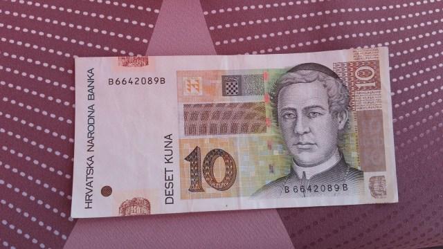 Billet de 10 Kn - Croatie