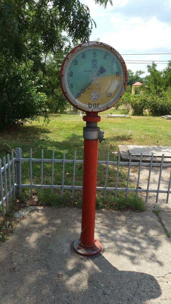 """""""Station de gonflage"""" croisée en Macédoine"""