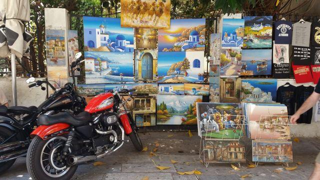 Peintures à Athènes