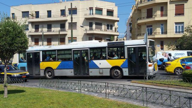 Bus à Athènes
