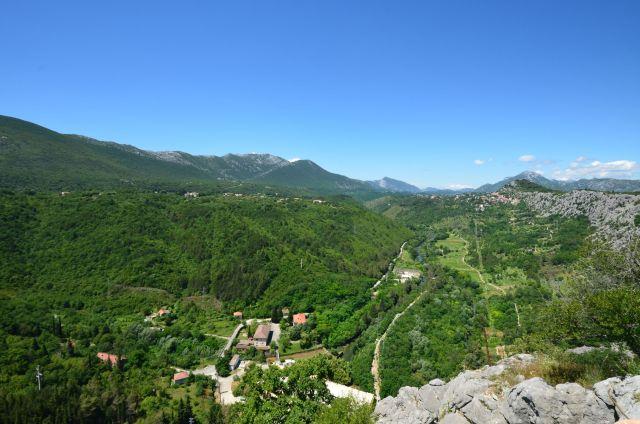 Sur la route entre Omiš et la frontière bosniaque